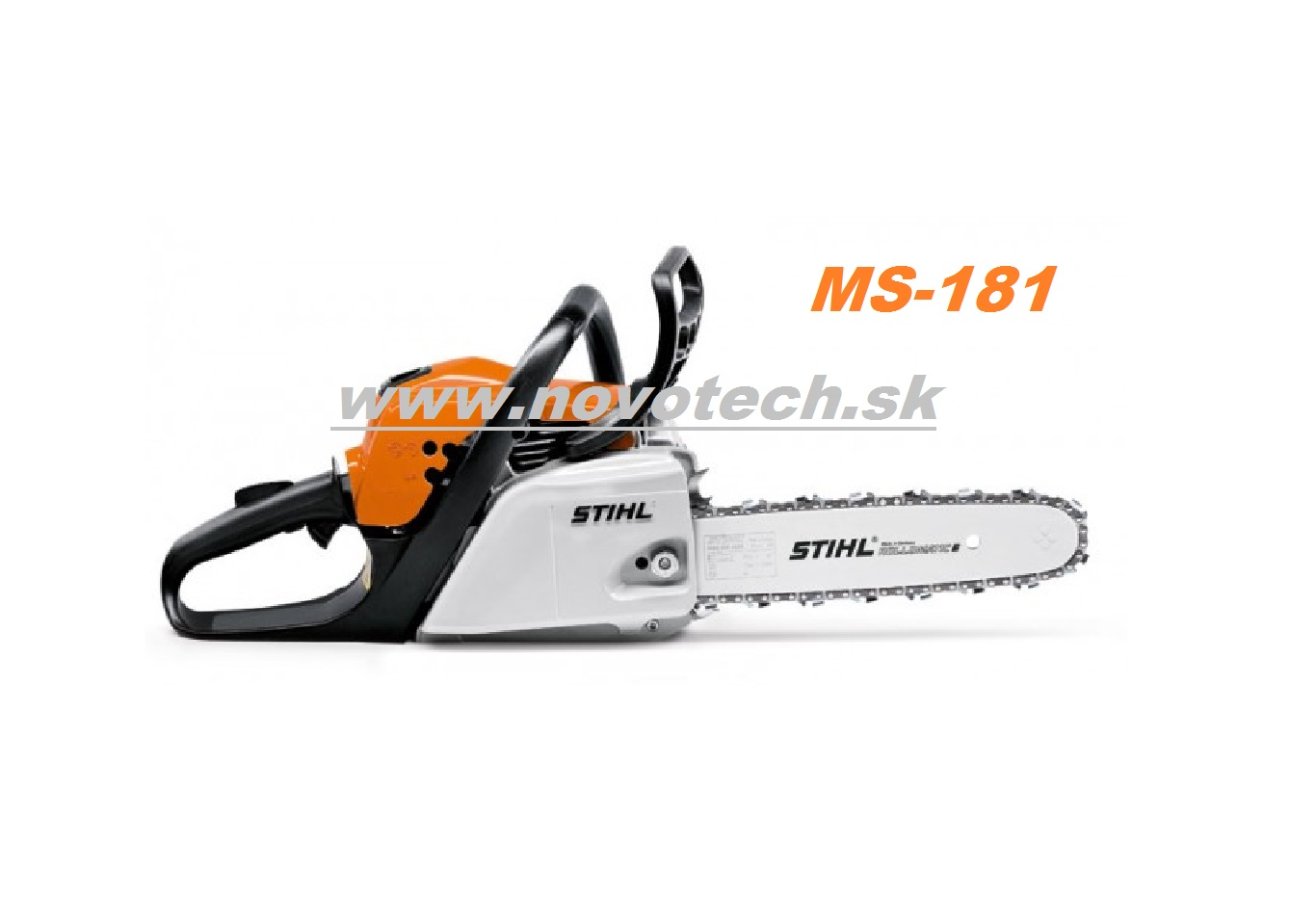 motorov p ly stihl ms 181 zahradn technika novotech. Black Bedroom Furniture Sets. Home Design Ideas